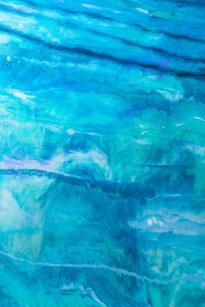 Abstract Painting Epoxy Resin Artwork