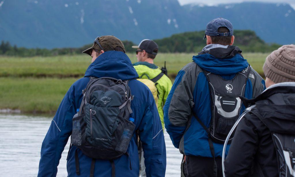 Hallo Bay Alaska Bear Walk