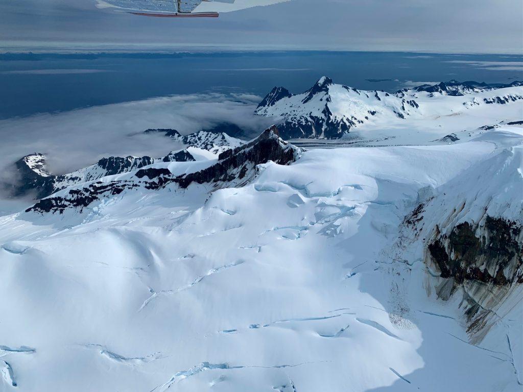 Alaska's Glaciers and Dormant Volcanos within Katmai National Park